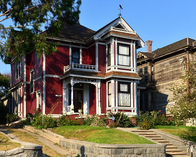 Casa donde se grabo la serie Embrujadas en Los Angeles