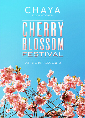 Chaya Downtown Cherry Blossom Festival | by mutineermagazine