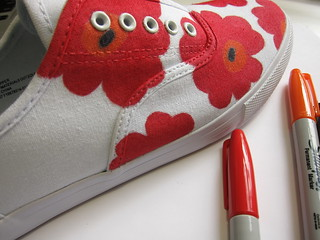 Marimekko Inspired Sneakers | by katbaro