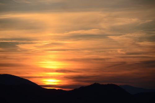 Sunset On Roaring Fork Motor Nature Trail 2 Randy Watson