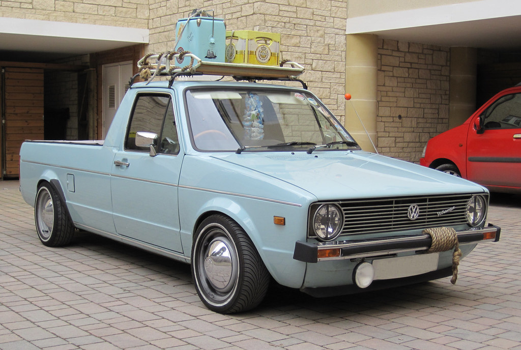 vw caddy 1987 volkswagen caddy pick up flickr. Black Bedroom Furniture Sets. Home Design Ideas