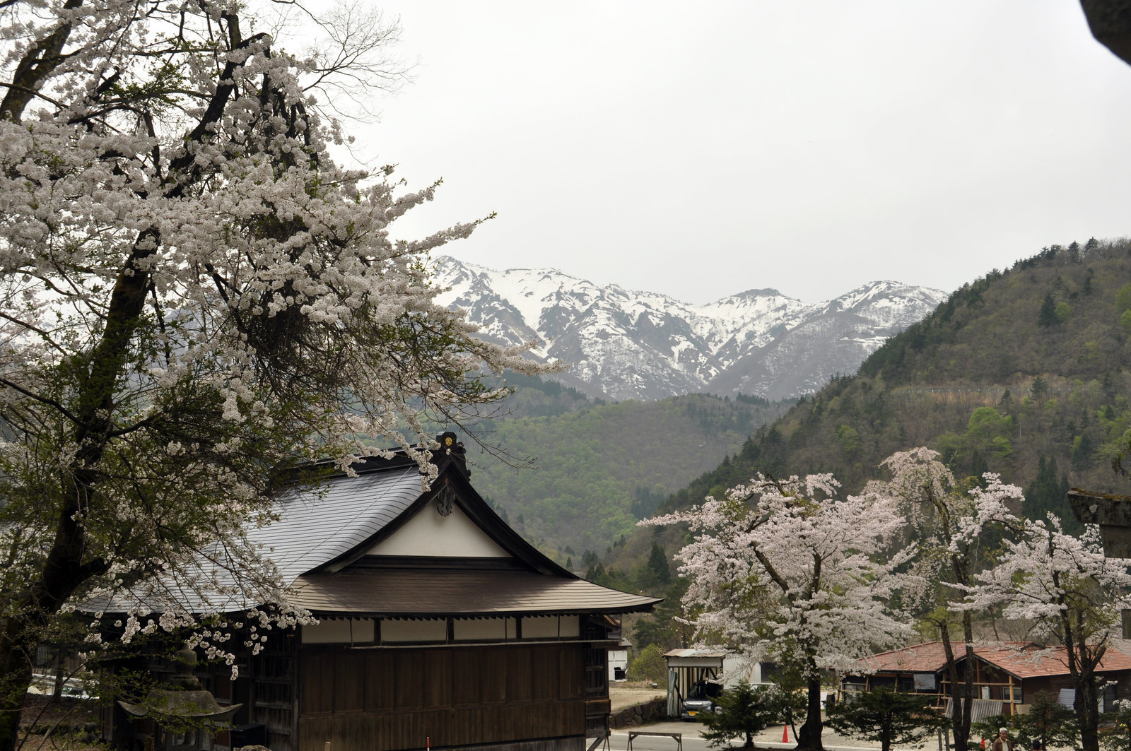 Shirakawa mountains