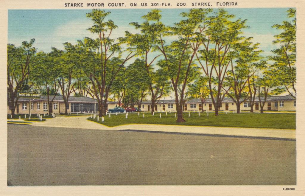 Starke Motor Court - Starke, Florida