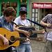 Street musicians, Canterbury