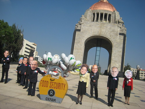 2012 G20 Stunt in Mexico City | by Oxfam International