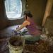 Molly Building Earthen Floor