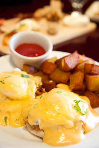 Pulled Pork Eggs Benedict | by johnnywangphotography