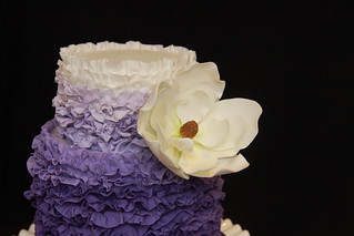 Janeta birthday cake - flower close up | by Designer Cakes By Effie