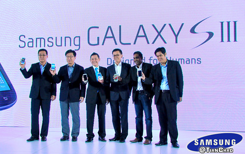 Samsung GALAXY S III Malaysia Launch @ One World Hotel | by Tian Chad