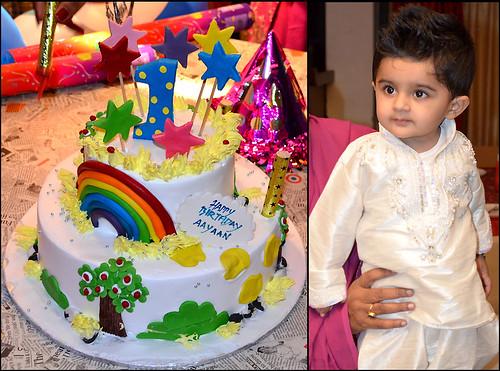 Birthday Cake Image Vishal : Aayaan-1st-Bday Hello Friends, Last week it was my son s ...