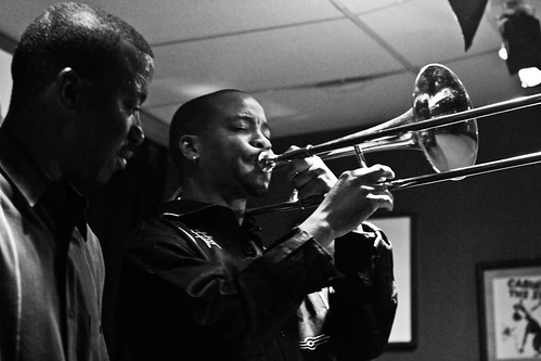Reginald Cyntje, trombone and Kenny Rittenhouse, trumpet | by Timothy Forbes Photography
