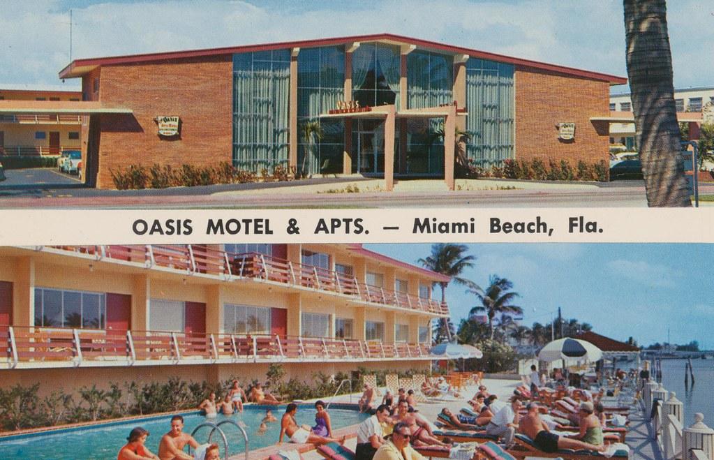 Oasis Apt. Motel - Miami Beach, Florida