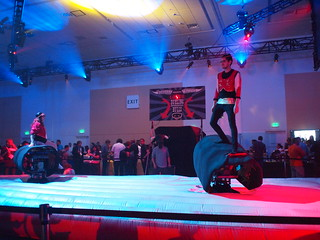 Dueling Mechanical Bulls at Google I/O After Hours 2012 | by Bekathwia