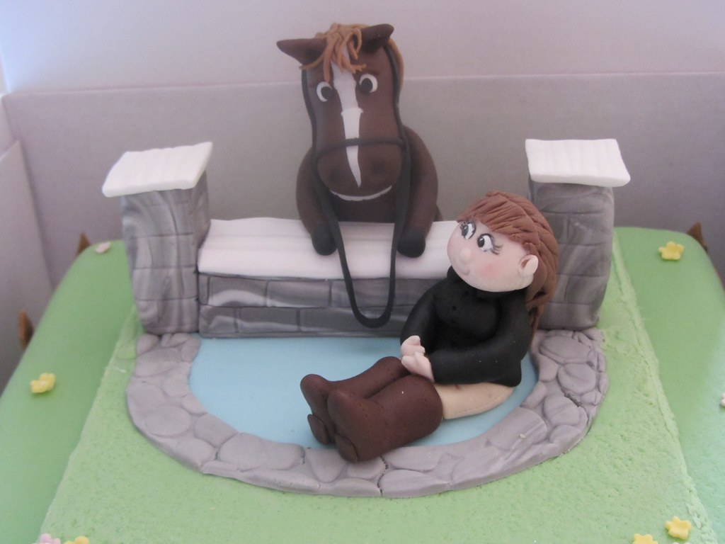 Horse 40th Birthday Cake I Created This Cake For My