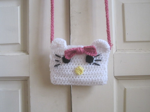 Hello Kitty Crochet bag | by LITTLEMISSERIC