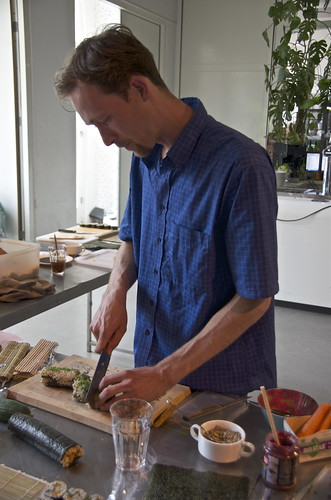 joris, the vegan sushi chef | by Cybergabi