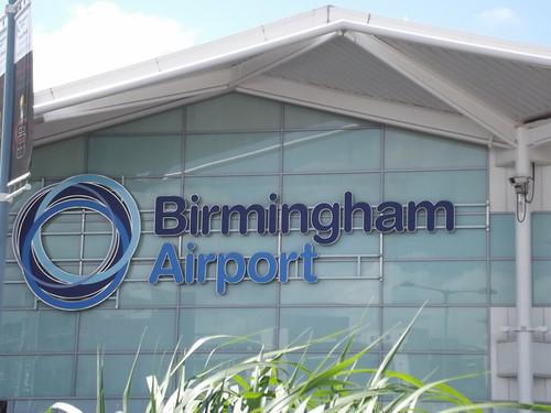 Birmingham Airport - Arrivals