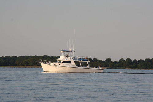 """Keeper of the Sea"" on Choptank River 