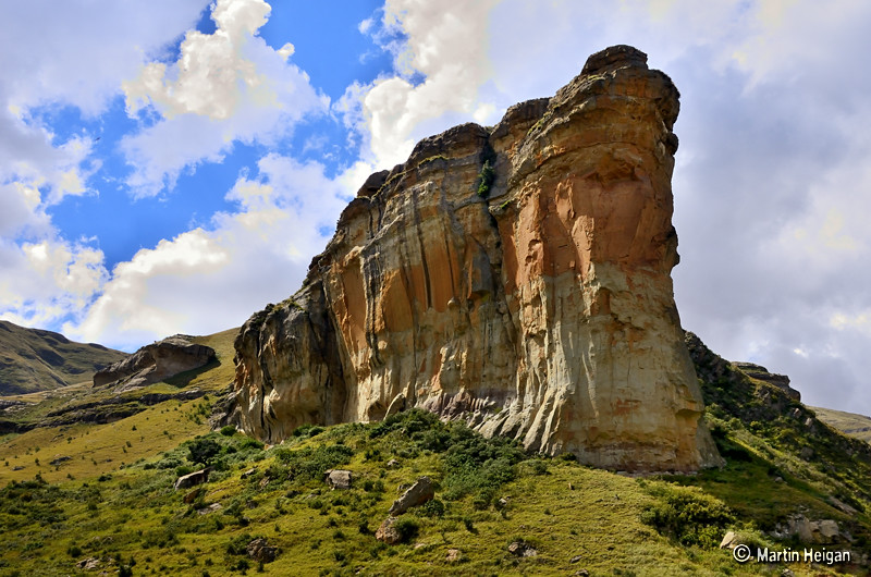 golden gate highlands national park the beautiful rock