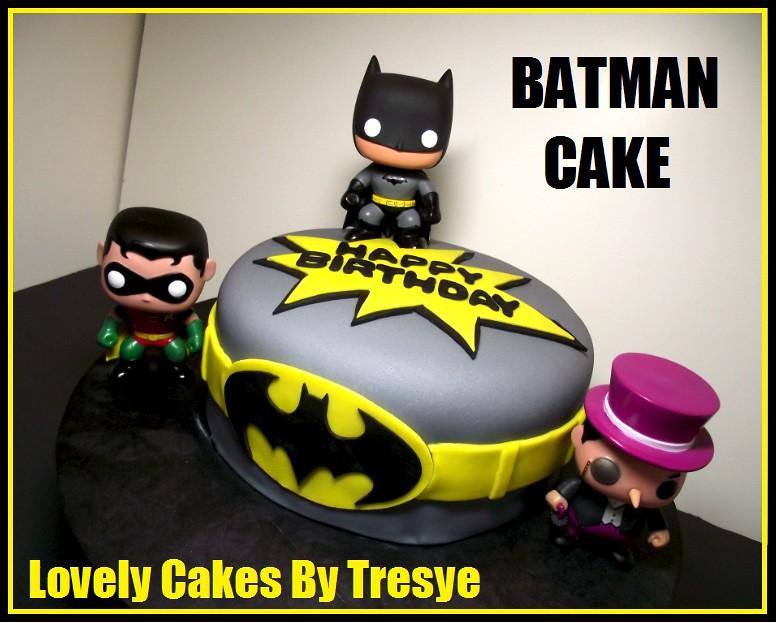 Batman Mask Cake Topper