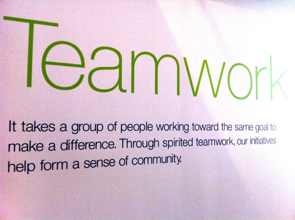 what does teamwork mean Teamwork is the collaborative effort of a team to achieve a common goal or to  complete a task  individual tasks: certain tasks do not require teamwork, and  are more appropriate for individual work by placing a team to complete an.
