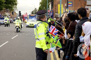 Day 203 - West Midlands Police - Olympic torch relay | by West Midlands Police