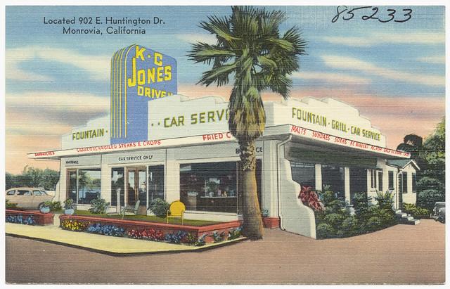K C Jones Drive In Located 902 E Huntington Dr Monrovia California Flickr Photo Sharing