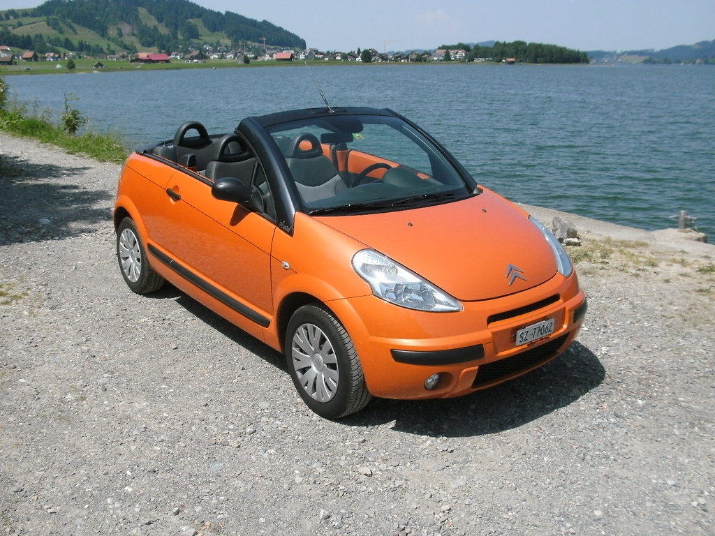 citroen c3 pluriel 2006 orange a rien dyanists flickr. Black Bedroom Furniture Sets. Home Design Ideas