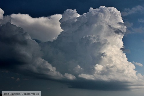 Severe Thunderstorm Beginning Stage | by Dan's Storm Photos & Photography