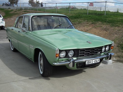 1974 Rover P6 3500 sedan