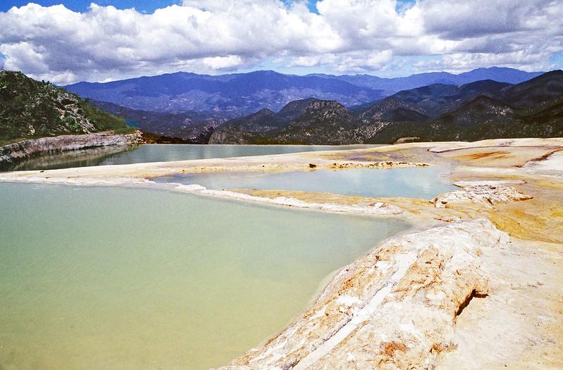Бассейны над долиной Оахаки, Мексика