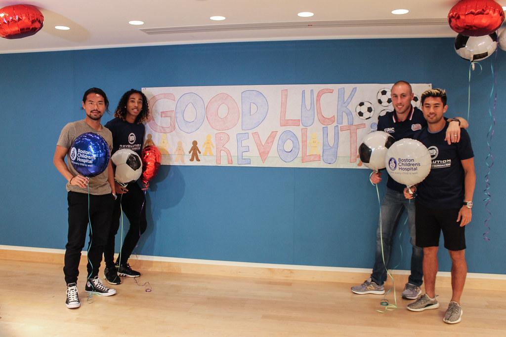 Revolution Visit Boston Children's Hospital | September 21