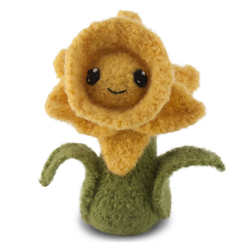 Felted Knit Daffodil Free Pattern Available Herehttpcr Flickr