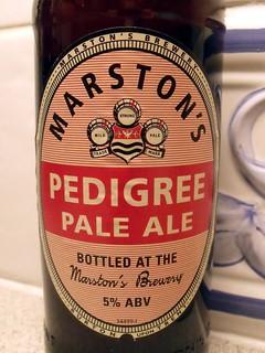 Marston's, Pedigree Pale Ale, England