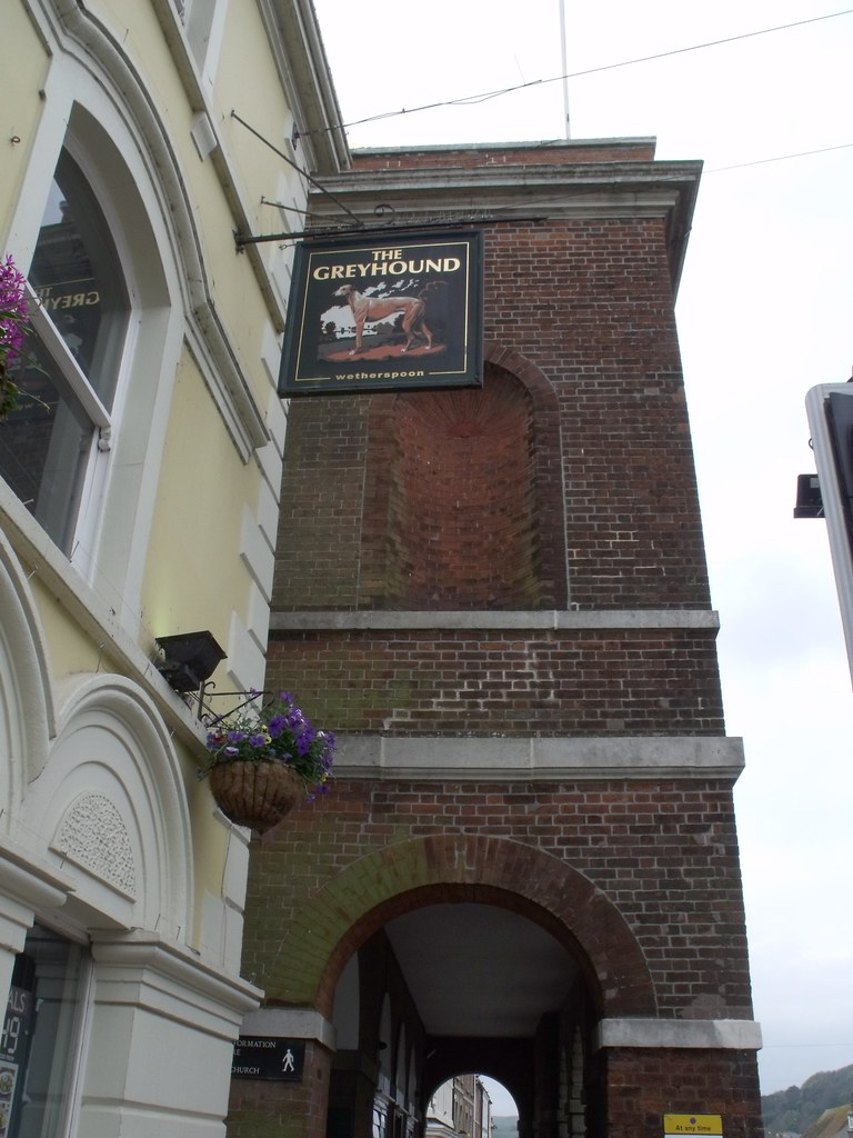The Greyhound And Town Hall East Street Bridport Flickr