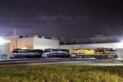 4 EMD's | by Norfolk Southern