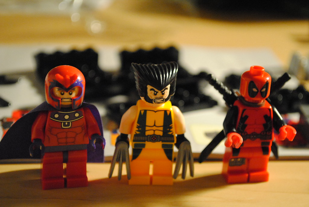 20120529 032 Magneto Wolverine And Deadpool And Lego Flickr