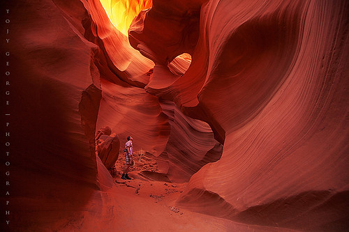 Lower Antelope Canyon, Page UT | by tojygeorge