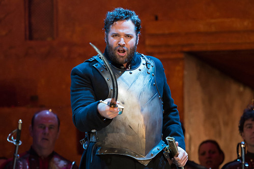 Bryan Hymel as Aeneas in David McVicar's production of Les Troyens. Photo by Bill Cooper © Bill Cooper/ROH 2012 | by Royal Opera House Covent Garden