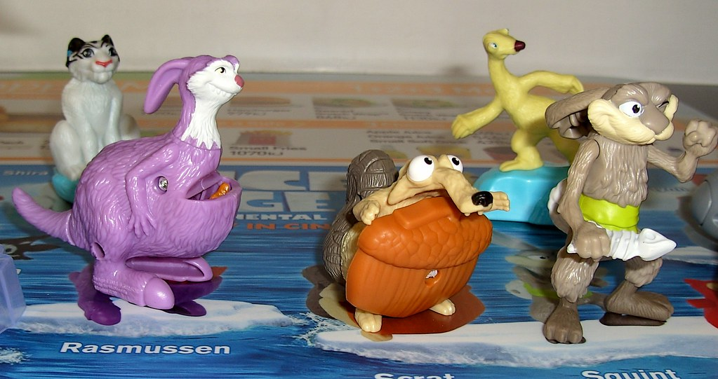 Ice Age 4 Continental Drift McDonald's Happy Meal Toy Aust ...Ice Age 4 Gupta