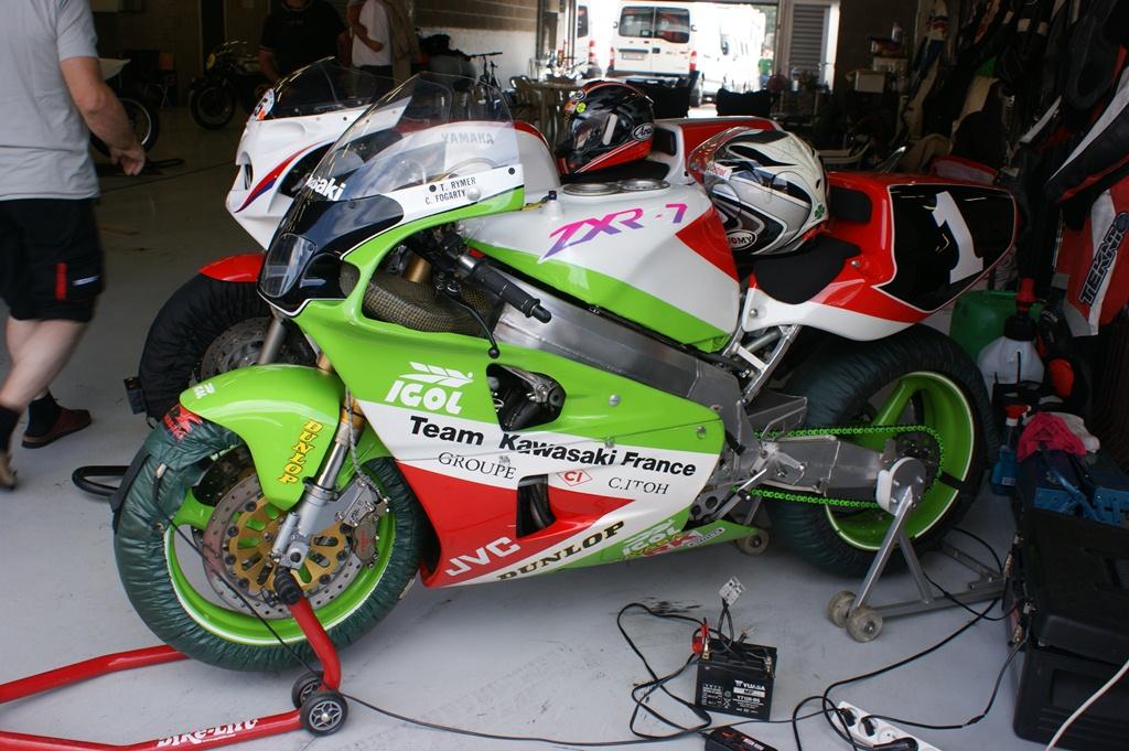 Kawasaki Factory Race Parts