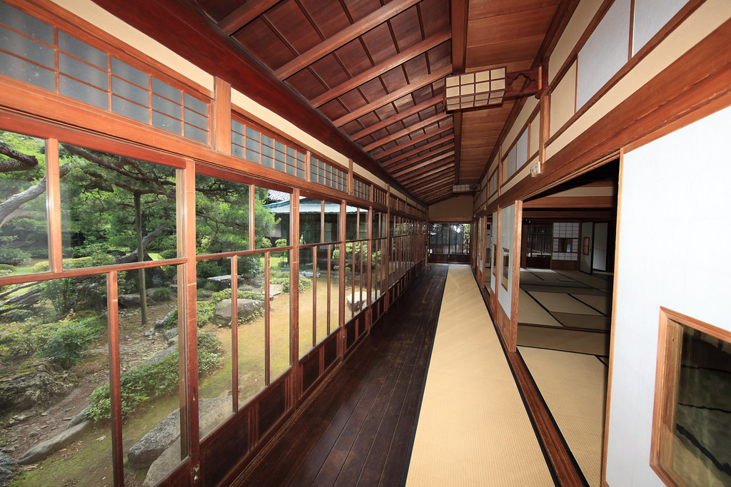 Japanese traditional style house interior design / 和風建築(わふ ...