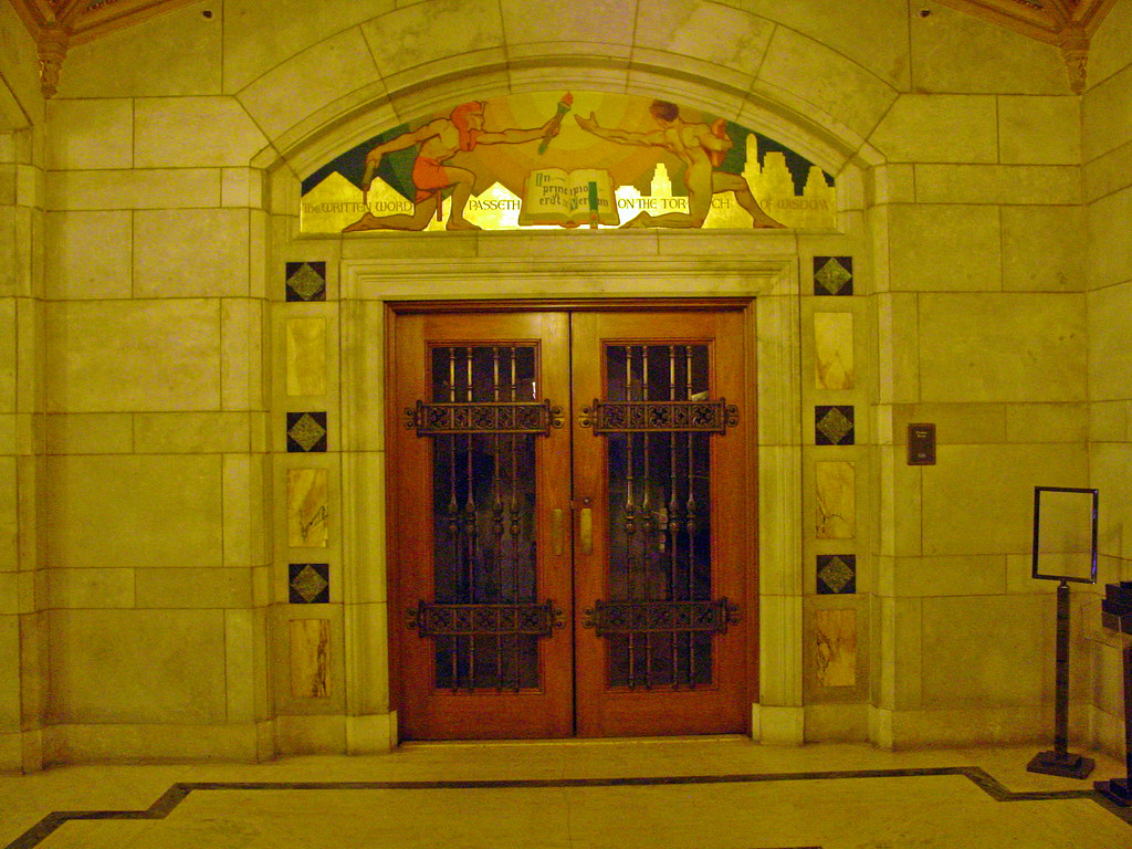 Photo of entrance to room 120