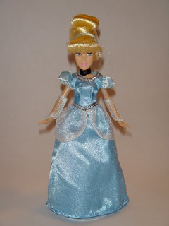 Cinderella 2012 Disney Store Mini Doll in Parks Dress - Full Front View | by drj1828