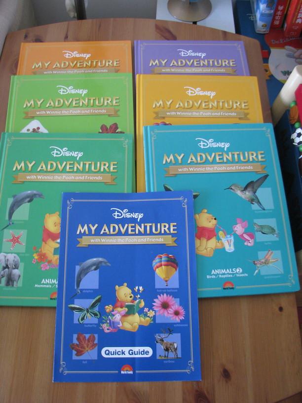 迪士尼教材 my adventure books my adventure books scofieldchan