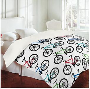 DENY Bicycle sheet set | Cool bicycle pattern sheet set for ...
