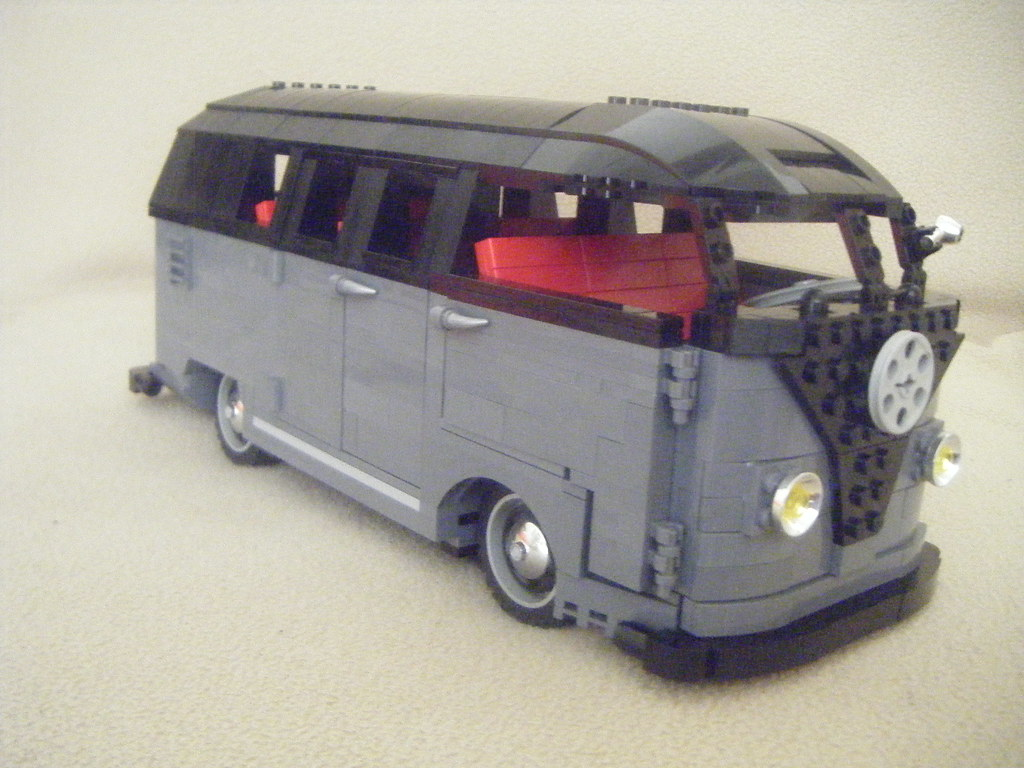lego vw split screen barn door kombi flickr. Black Bedroom Furniture Sets. Home Design Ideas