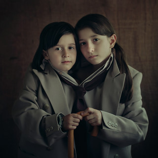 Two of a One (Daddy's daughters) | by Svetlana Bekyarova