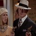 Miriam Shor and Mark Deklin as Bonnie and Clyde