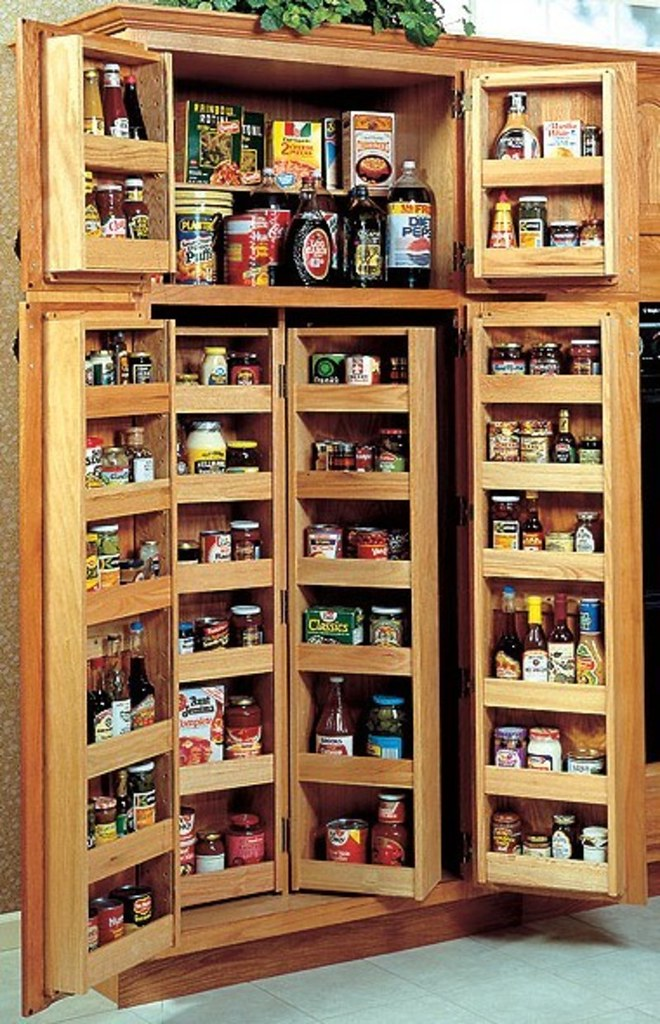 Choosing A Kitchen Pantry Cabinet Pantry Design Ideas A